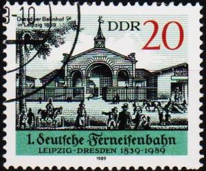 Germany(DDR). 1989 20pf  S.G.E2940 Fine Used