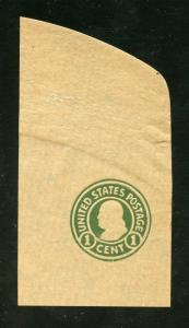 UNITED STATES CUT SQUARE CLEAN WRAPPER SCOTT#W427   MINT NEVER  HINGED
