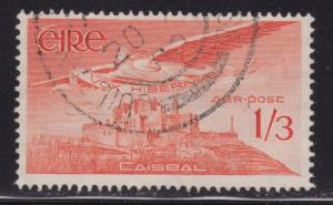 Ireland Airmail # C6 Angel over Rock of Cashel , F-VF Used - I Combine S/H