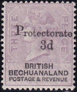 Bechuanaland 1888 SC 63 MLH