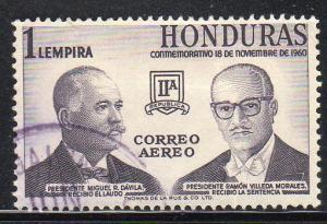 Honduras C315 – Used – Pres. Davila & Morales (cv $1.00)