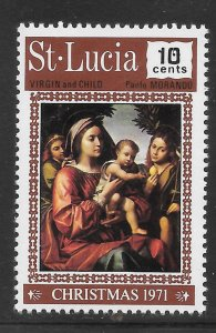 St Lucia Mint Never Hinged  [9275]