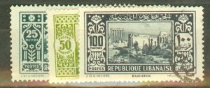 P: Lebanon 114-134 used CV $66.45; scan shows only a few
