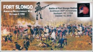2015, Fort Slongo, Battle of Fort Slongo, American Revolution, Pictorial, 15-320