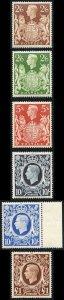 KGVI SG476/8c 1939 Square High Values U/M