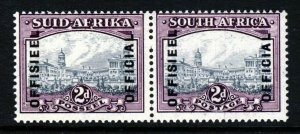 SOUTH AFRICA 1941 OFFICIALS Overprinted 2d. Grey & Dull Purple SG O31 MNH