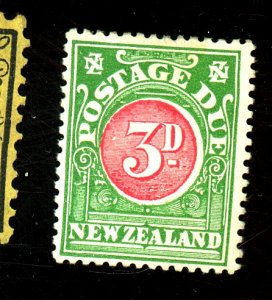 NEW ZEALAND #J19 MINT FVF OG HR Cat $50