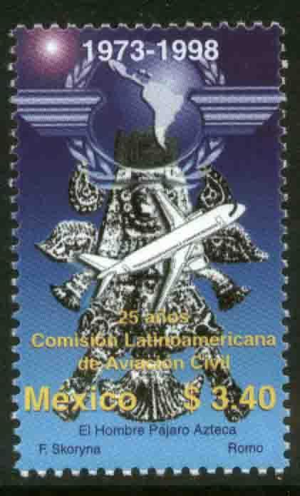 MEXICO 2109, Latin American Civil Aviation Commission. MINT, NH. VF. (69)