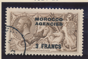 Great Britain, Offices In Morocco Stamp Scott #410, Used - Free U.S. Shipping...