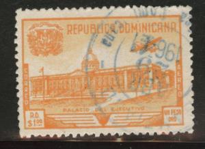 Dominican Republic Scott C69 used 1948 Airmail