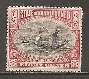 North Borneo  SC 85 Mint Lightly Hinged