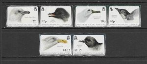 BIRDS - BRITISH ANTARCTIC TERRITORY #423-5  MNH