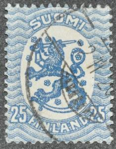 DYNAMITE Stamps: Finland Scott #91 - USED