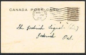 Canada Unitrade Postal Card UX50a