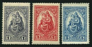 Hungary 415-417,MNH.Mi 427-429. Madonna, patroness of Hungary,1926-1927.