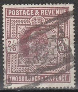 Great Britain #139  F-VF  Used CV $150.00  (S8063)