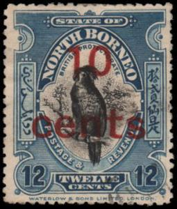 North Borneo 162 used