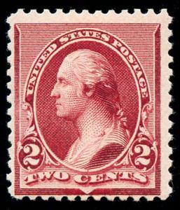 momen: US Stamps #219D Mint OG F/VF
