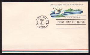 United States UXC6 First Day of Issue Postal Card