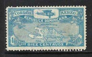 DOMINICAN REPUBLIC C6 VFU MAP O484