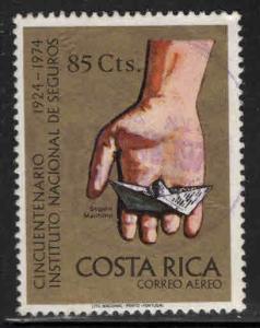 Costa Rica Scott C603 used Airmail stamp