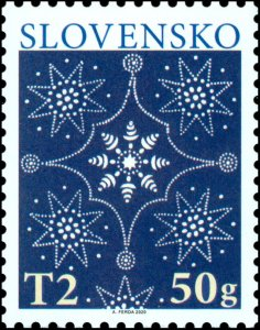 Stamps Of Slovakia In 2020. - Christmas 2020.