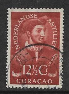 CURACAO  204 USED ALONSO DE OJEDA ISSUE 1949