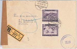 56104 - AUSTRIA -  POSTAL HISTORY:   COVER 1948
