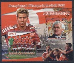 2012  European Football 2 Values Denmark Sport Bendtner Per Olsen