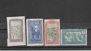#79-80,147,173 Malagasy Republic Mint OGH