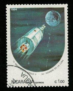 Nicaragua 1$ (ТS-1558)