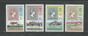 Falkland Islands  Scott catalogue # 278-281 Unused Hinged