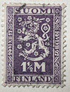 AlexStamps FINLAND #141 SUPERB Used