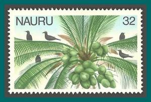Nauru 1978 Definitives, 32c Coconut Palm, MNH 176,SG185