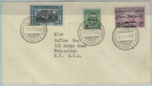 79222 - COLOMBIA - Postal History - FIRST FLIGHT COVER  Bogota  Barranquilal1930