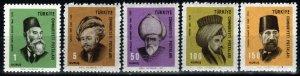 Turkey #1744-8  MNH  CV $9.55 (X9712)