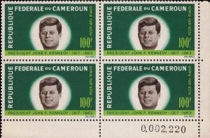 Cameroun 1964 #C52 - J.F. Kennedy