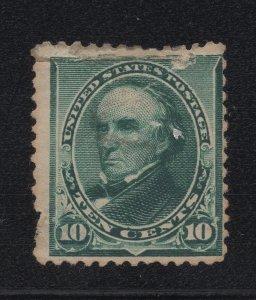 US Stamp Scott #226 Mint Hinged (REPAIRED) SCV $160