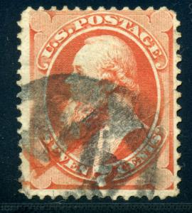 138A Stanton I-Grill Used Stamp with Weiss Cert (Stock 138-3)