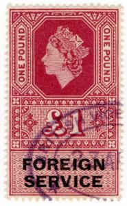 (I.B) Elizabeth II Revenue : Foreign Service £1