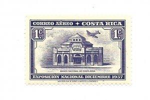 Costa Rica 1938 - Unused - Scott #C35