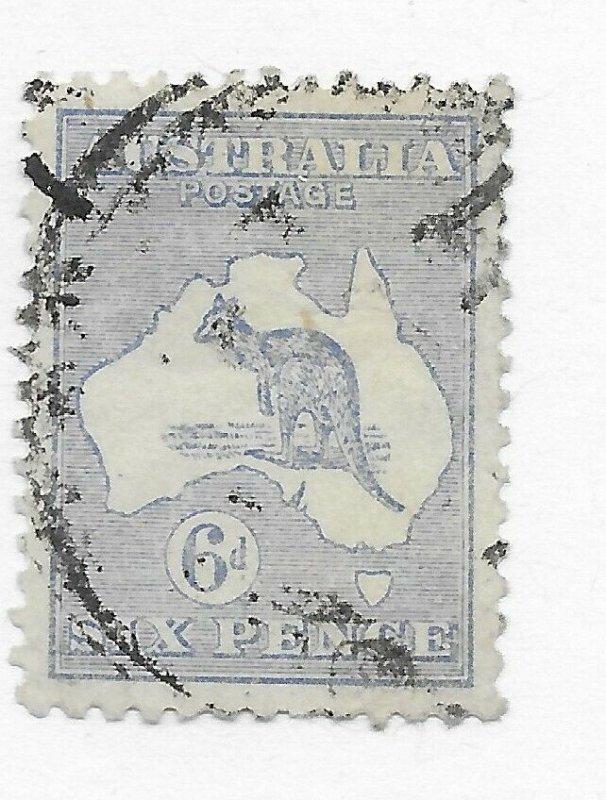 Australia  #48 Stamp CAT VALUE $17.50