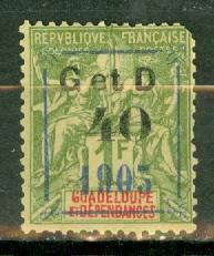 Guadeloupe 52 mint CV $60