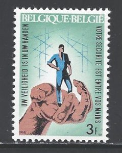 Belgium Sc # 698 mint hinged (RS)