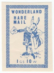 (I.B) Cinderella Collection : Wonderland (Hare Mail)
