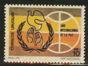 Uruguay Scott 1248 MNH** from 1986