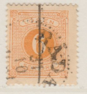 Sweden Postage Due 1874-86 6o Perf 13 Fine Used A13P19F144