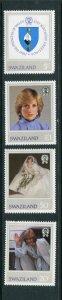 Swaziland #406-9 MNH
