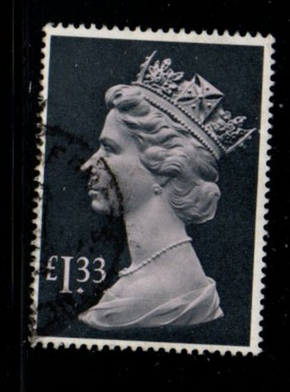 Great Britain Sc MH171 1984  £1.33 QE II Machin Head stamp used