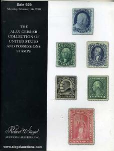 Siegel Rare Stamp auction Sale